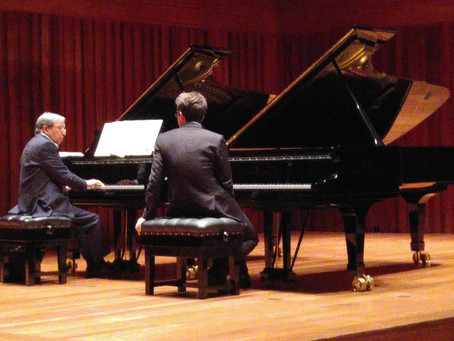 Masterclass with Murray Perahia and prizewinner in Dudley International Piano Competition