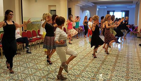 tecnica femminile, paola pinessi, stage di tango
