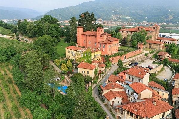 costigliole saluzzo, hotel castello rosso