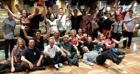 gruppo di tangueri, stage di tango argentino, tango vacanza su costa mediterranea