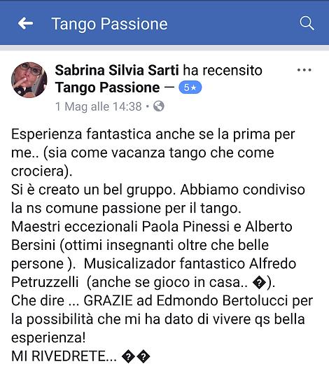 recensione tango passione