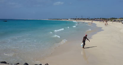 vacanza tango spiaggia di capo verde