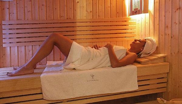 sauna hotel castello rosso