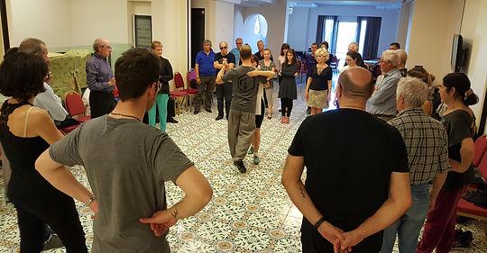 stage di tango, paola pinessi, alberto bersini