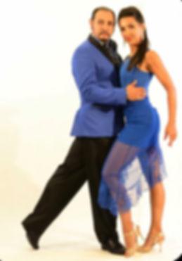 juan carlos martinez, nora witanosky, maestri di tango