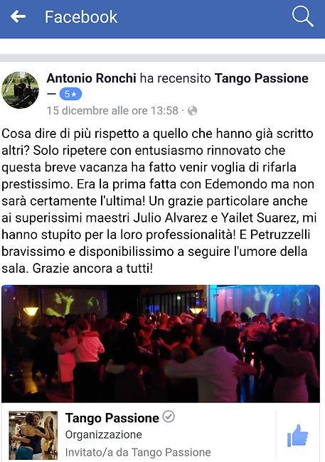 referenze tango passione