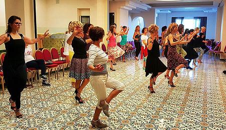 tecnica donne tango
