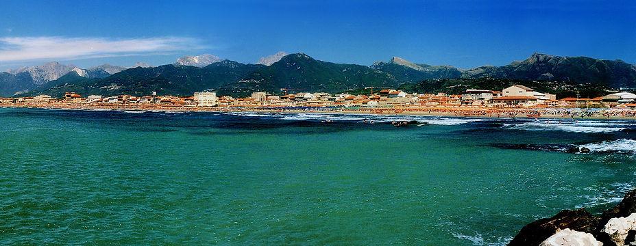 viareggio, la spiaggia, litorale viareggio