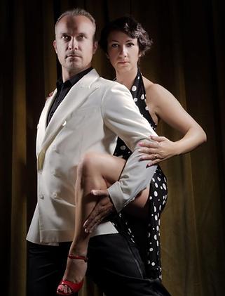 alberto bersini, paola pinessi, ballerini di tango, maestri di tango argentino