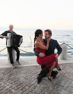 alfredo astesiano, carina calderon, ballerini di tango, esibizione di tango