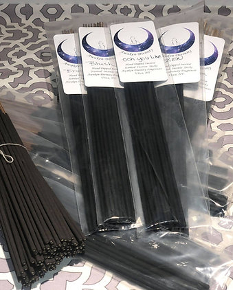 Hand Dipped Charcoal Incense