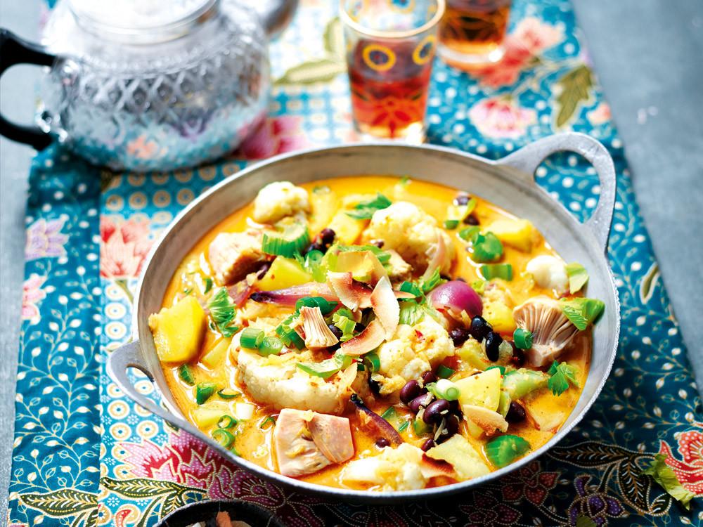Gelbes Curry mit Kokos von naturkost.de