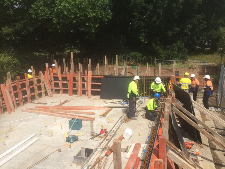 commercial formwork