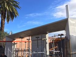 off form concrete beam