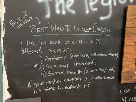FOTW 04.01.21 - Best Ways to Utilize Cardio