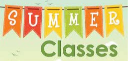 No class today, updates for summer classes.