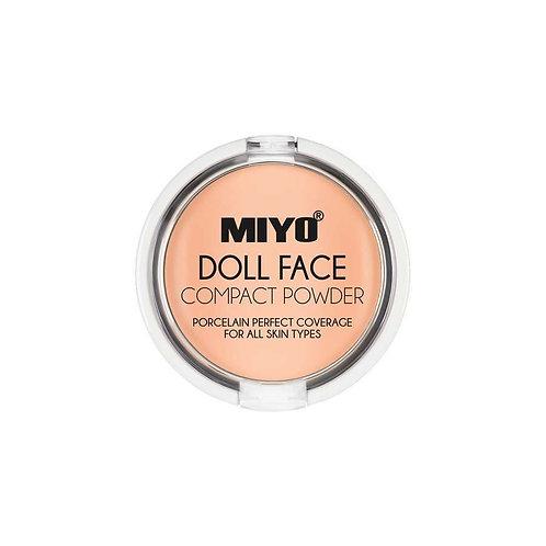 Pó compacto Doll Face Miyo 02 Cream
