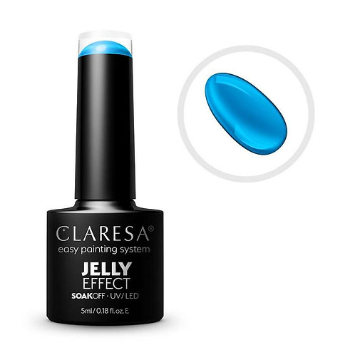 Verniz gel Claresa JELLY BLUE