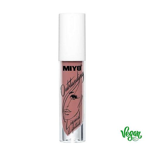 Batom líquido Matte Outstanding Miyo 04 Stronger Than Me
