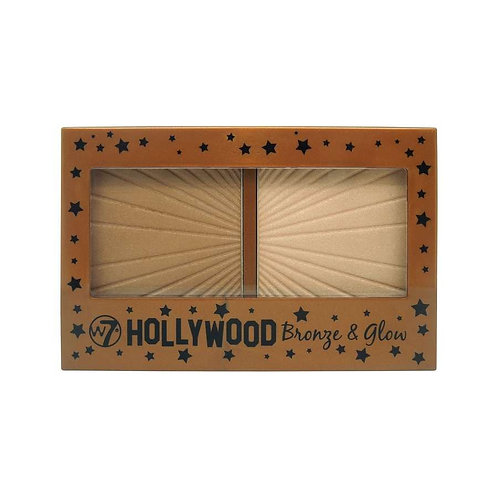 Bronzer e  iluminador Hollywood Bronze & Glow W7