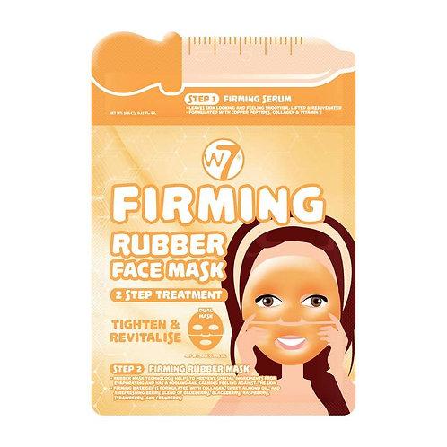 Máscara facial de borracha reafirmante 2 passos W7