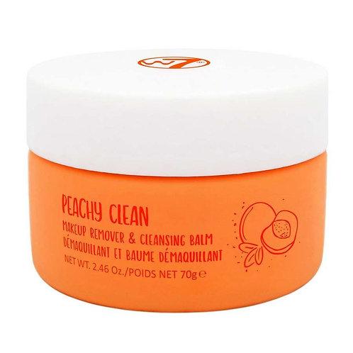 Bálsamo de limpeza desmaquillante Peachy Clean W7