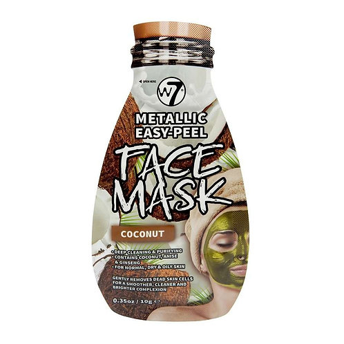 Máscara facial metálica Coco W7