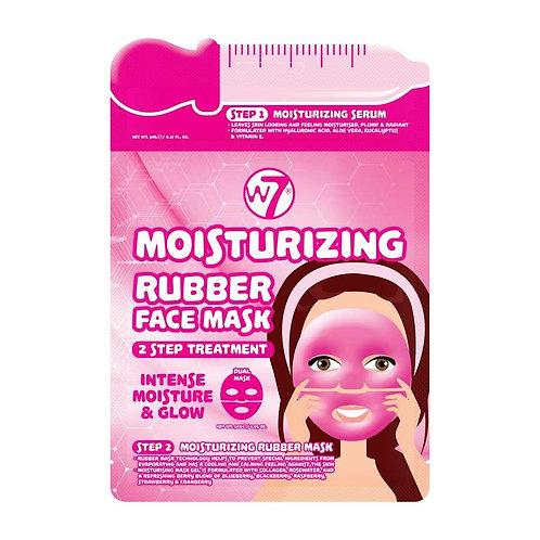 Máscara facial de borracha hidratante 2 passos W7