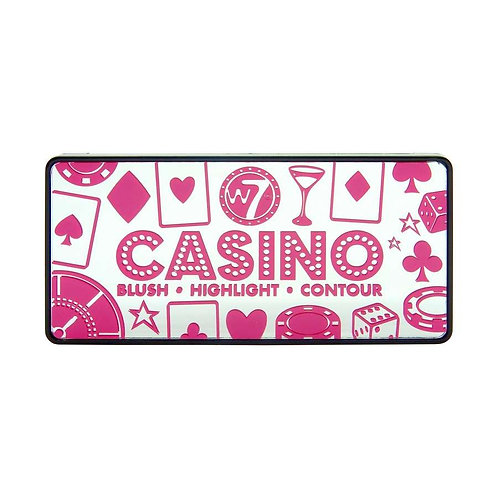 Paleta de rosto Casino W7