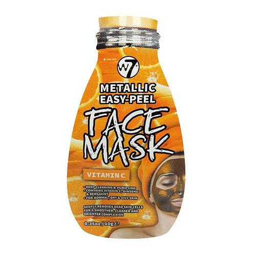 Máscara facial metálica Vitamina C W7