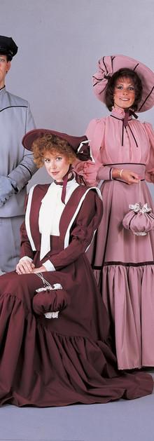 1800s daywear, knicker suit, chauffeur.J