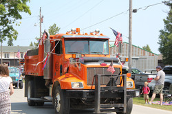 Truck 597 in the July 4th parade