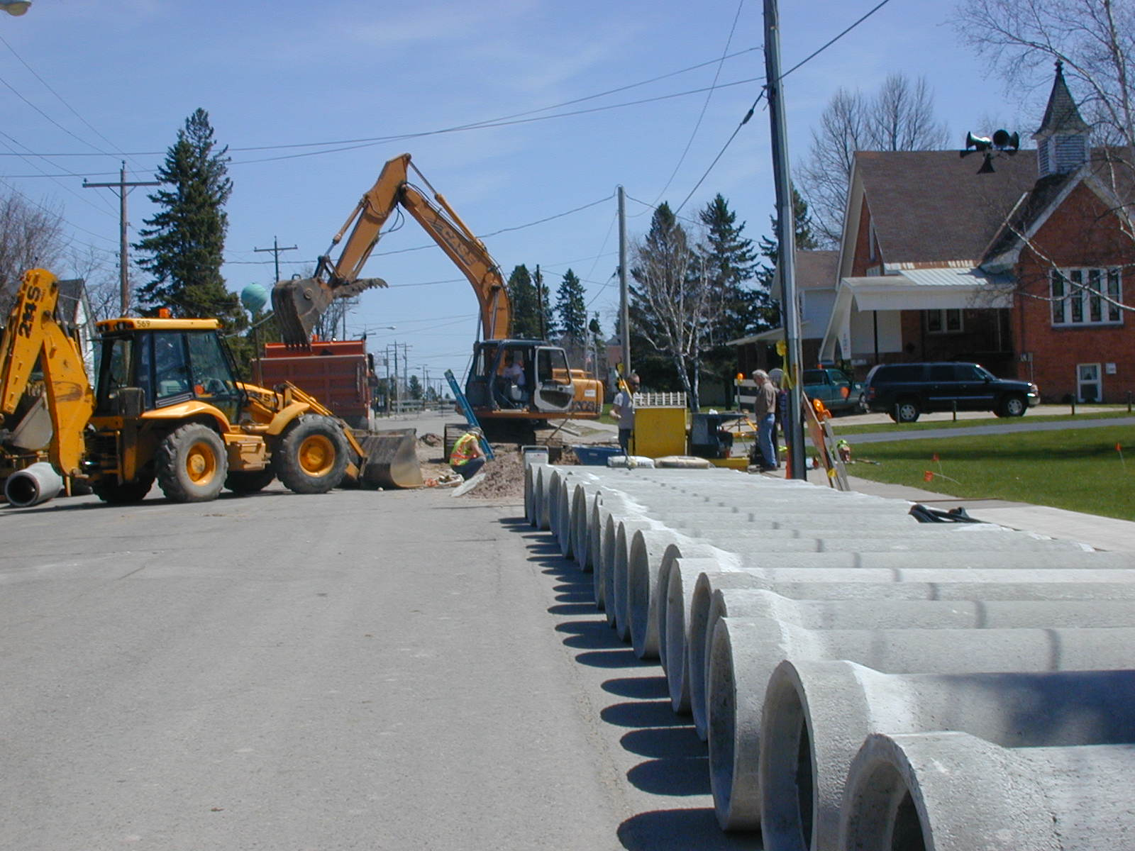 Drainage repairs