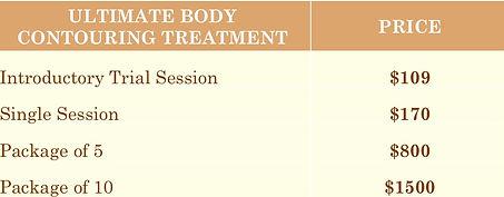 Ultimate Body Contouring Treatment Price