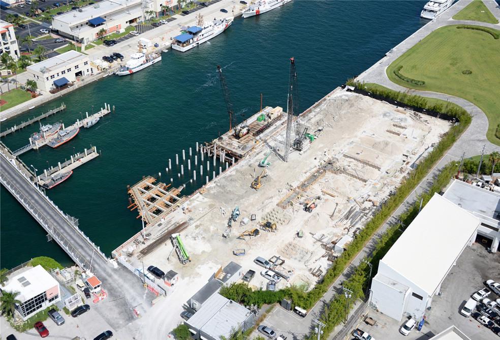 Fisher Island Terminal Isle Over Water Platform