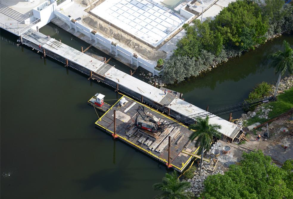 University of Miami Pedestrian Bridge