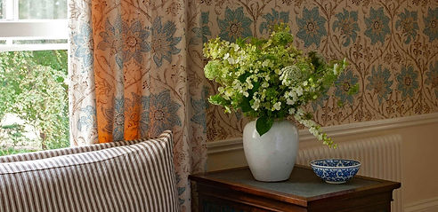 Soane Britain _ Blake Ashley Design _ Montecito _ Designer Upholstery Fabrics _ Drapery _ Pillows _