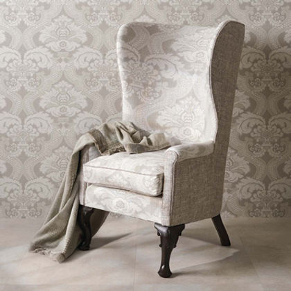 Nina Campbell _ Wallcoverings _ Fabrics _ Trims _ Blake Ashley Design _ Interiors _ Montecito _ Sant