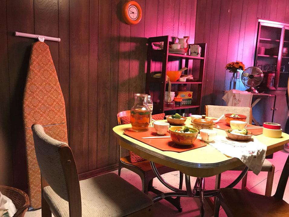 Set 3 - 1970s San Francisco - Dining Room