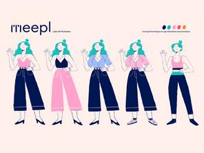 Meepl Character Design