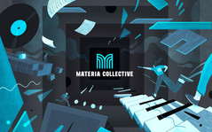 Materia Collective Pitch Deck Illustration