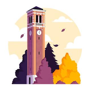 University of Northern Iowa Campanile Tower