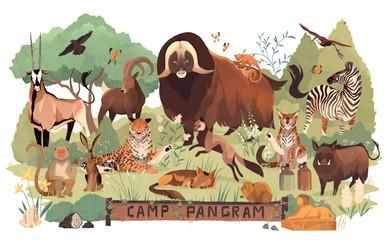 Camp Pangram for Jonathan Hoefler