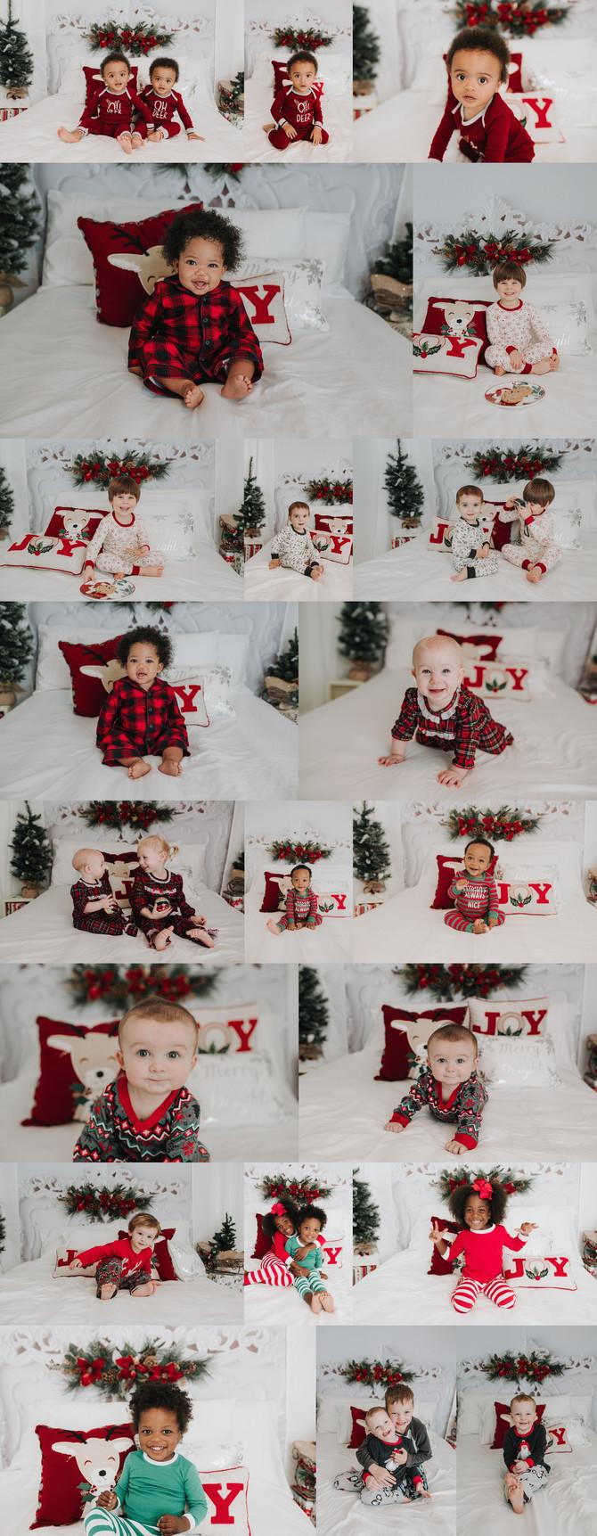 Christmas Jammies Minis