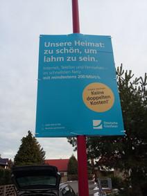 Druck & Plakatierung Hohlkammerplakate