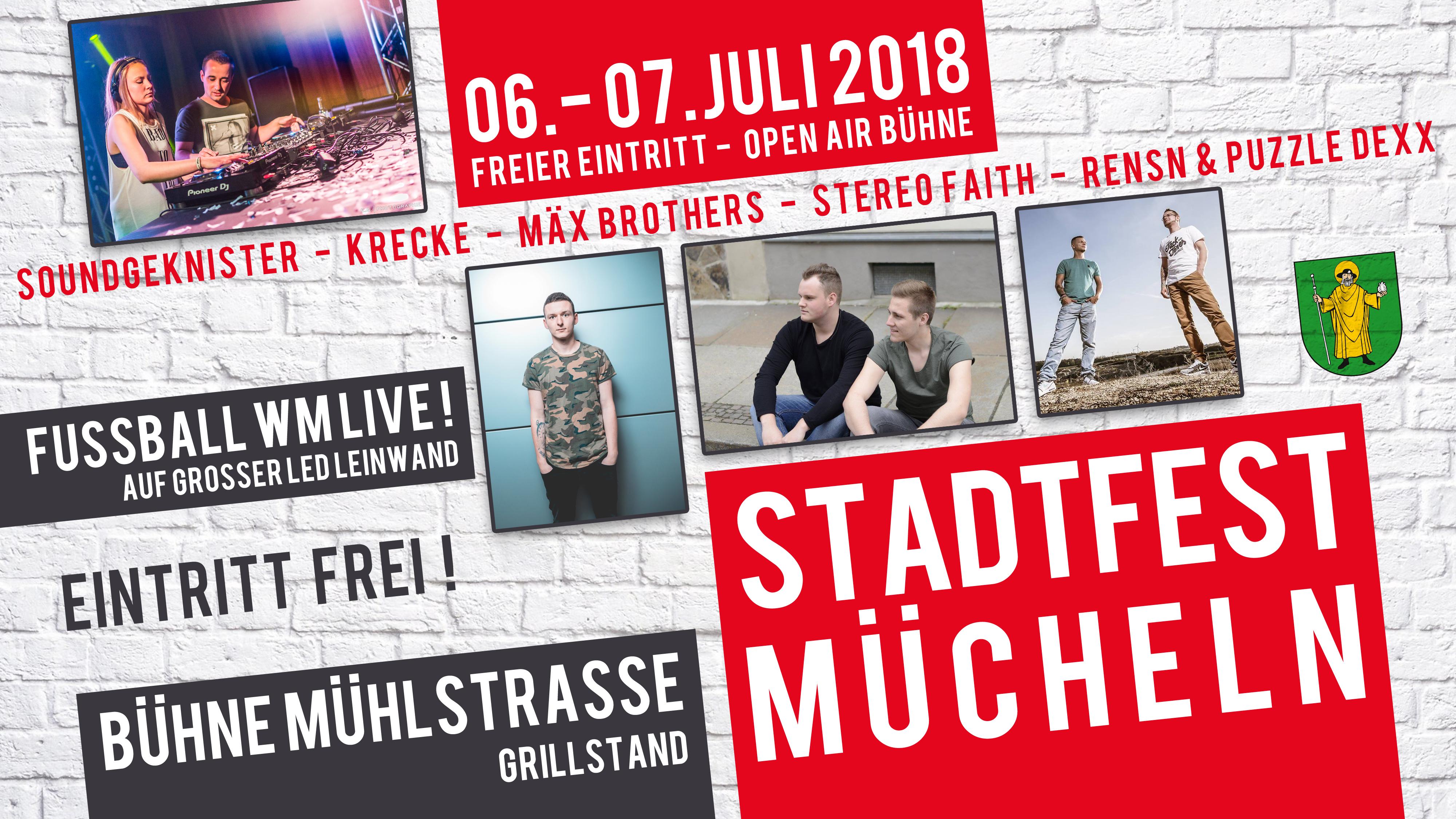 Design Stadtfest Mücheln