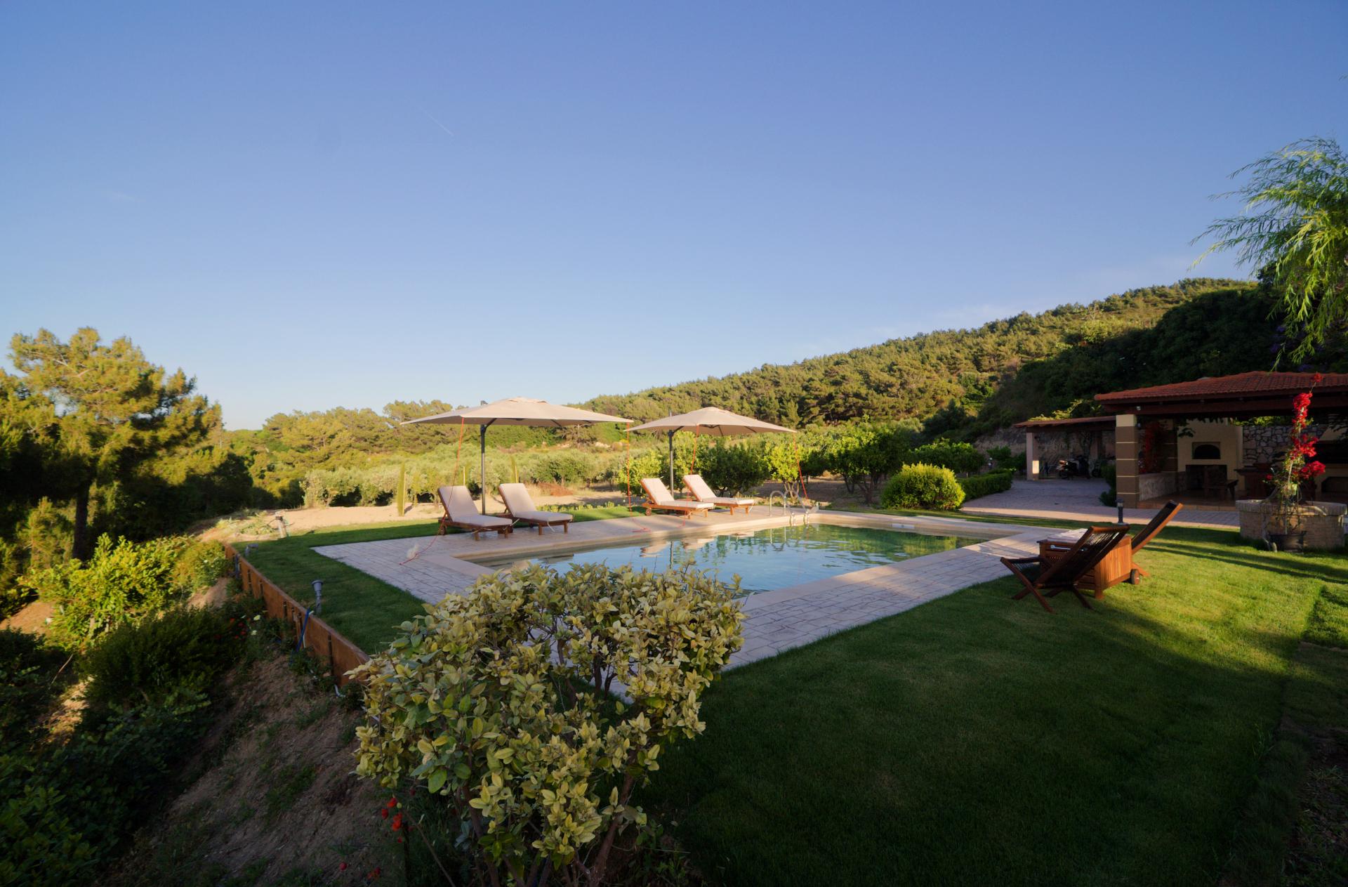 Villa Russelia_Rhodes_Pool_8