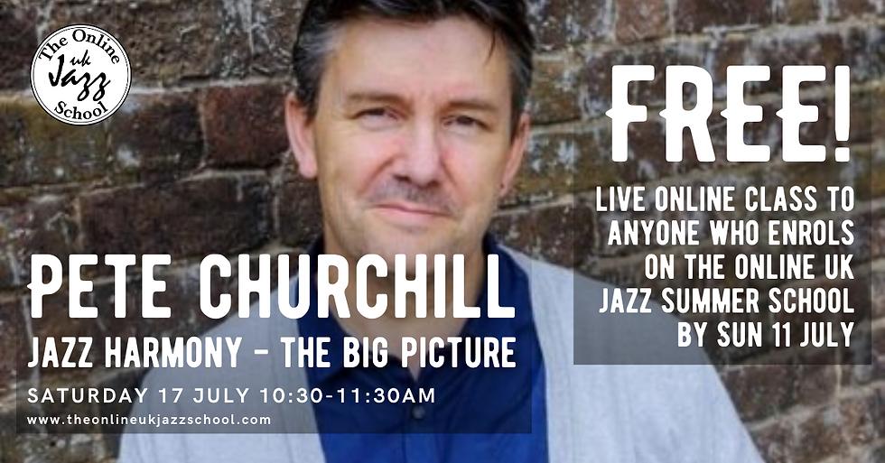 Pete Churchill - Jazz Harmony - The big