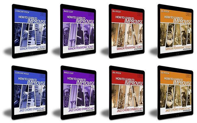 All 8 How To Improv Books-iPads on white bg copy.jpg
