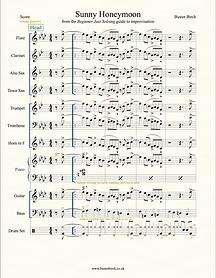 Sunny Honeymoon (screen grab)-score US.p